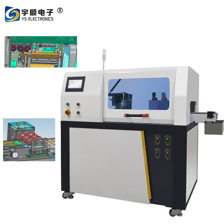 Fully automatic double direction V Cut PCB Depaneling