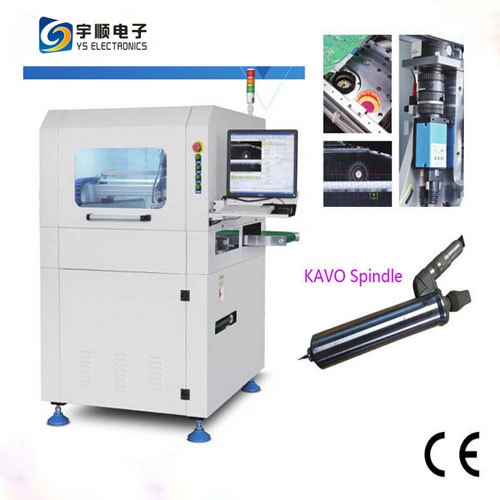 High Efficiency Inline PCB Router Machine with Break Blade Checking Function