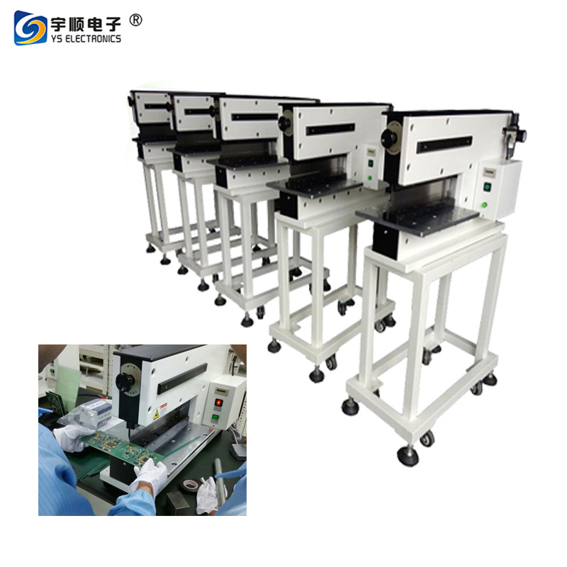 Lowest Cutting Stress PCB Separator with 300U Strains and 480mm Cutting Length
