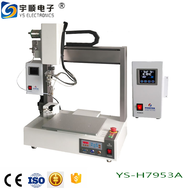 Single fixture automatic soldering machine