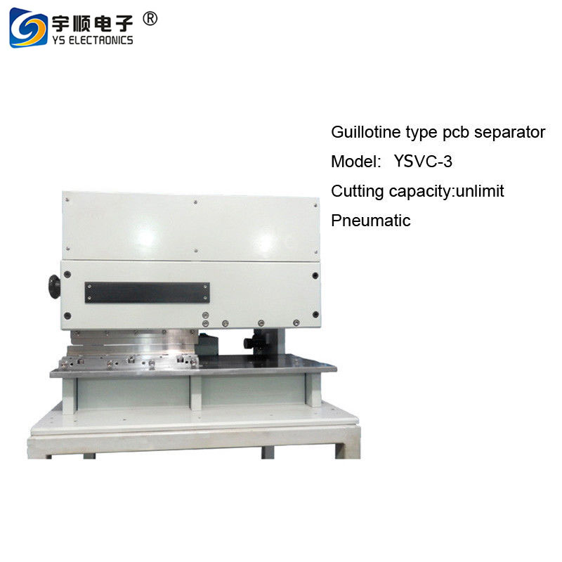 1 Inch Components Height PCB Separator with High Speed Steel Linear Blades
